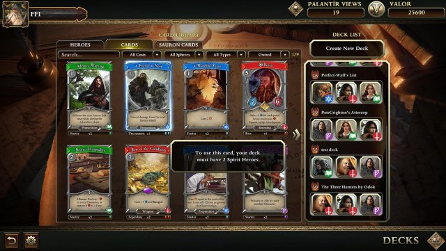The Lord of the Rings Living Card Game - Level 2 Cards FAQ
