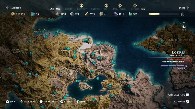 Assassin's Creed Odyssey - Locations of Orichalcum, Legendary Chests and Ancient Steles