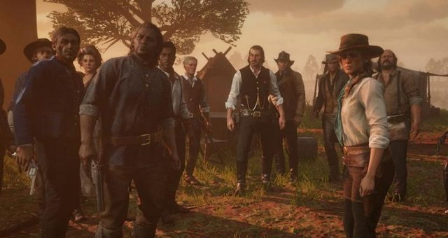 Red Dead Redemption 2 - Full Map