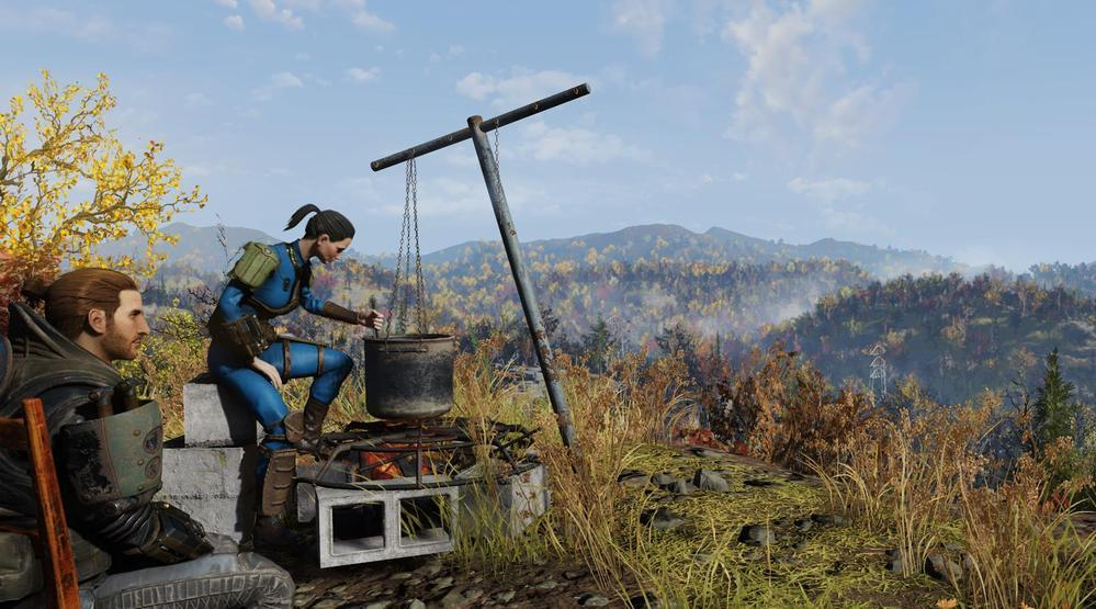 Fallout 76 - C A M P  Building Guide