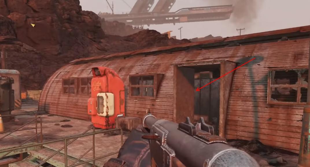 Fallout 76 - How to Find Alien Blaster Pistol (Unique Weapon)