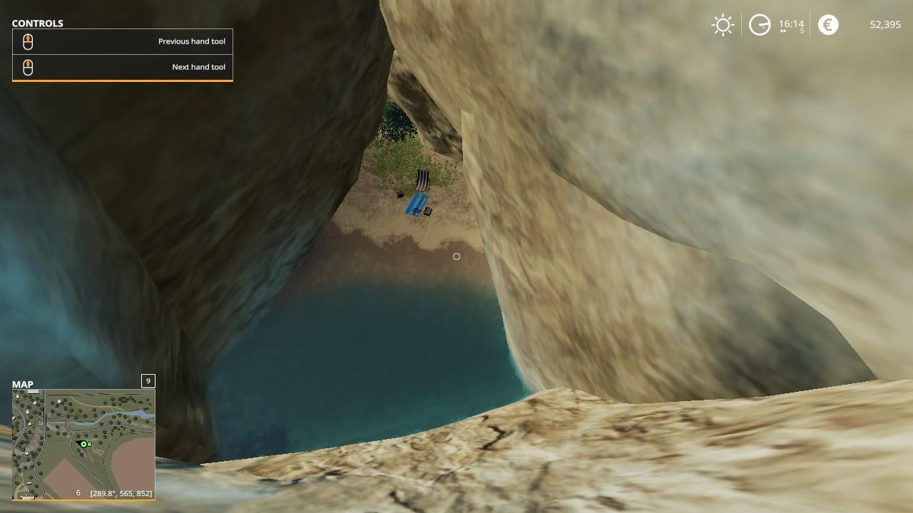 Farming Simulator 19 - Chill Cave Easter Egg