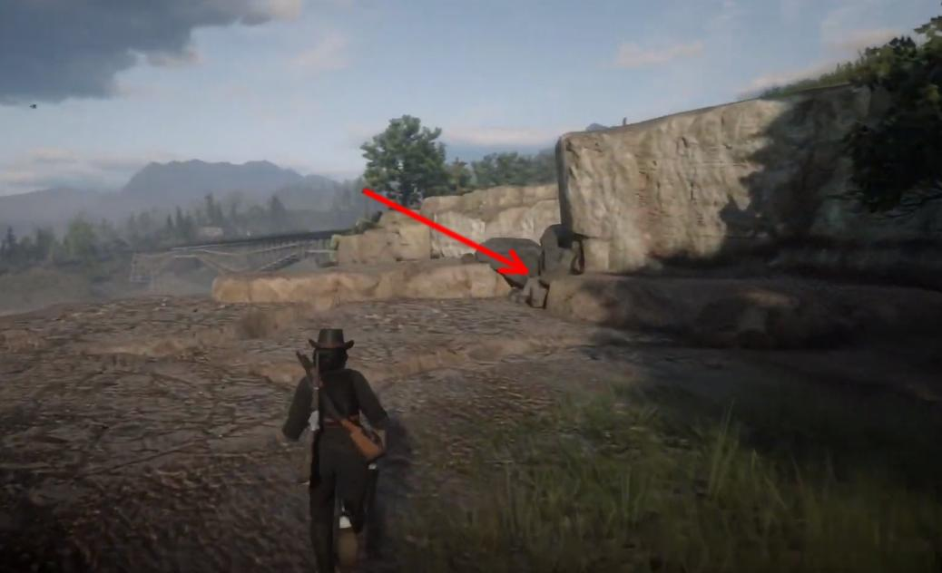 Red Dead Online Bard S Crossing Treasure Map Location And Solution
