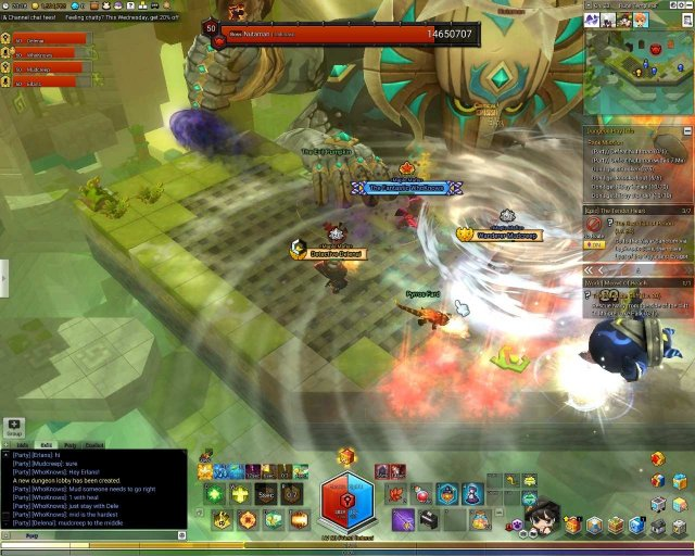 MapleStory 2 - Hard Dungeons (Pyros, Balrog, Nutaman)
