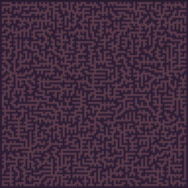 Aground - Wyrm Maze Map