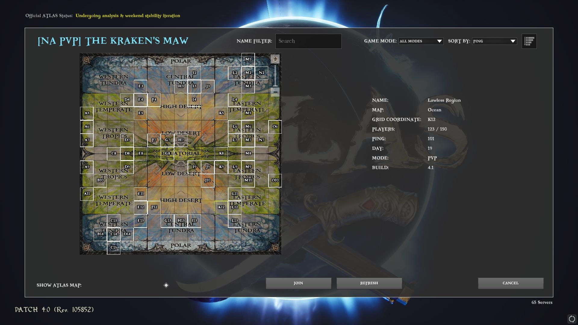 ATLAS - How to Properly Choose a Server as a Noob