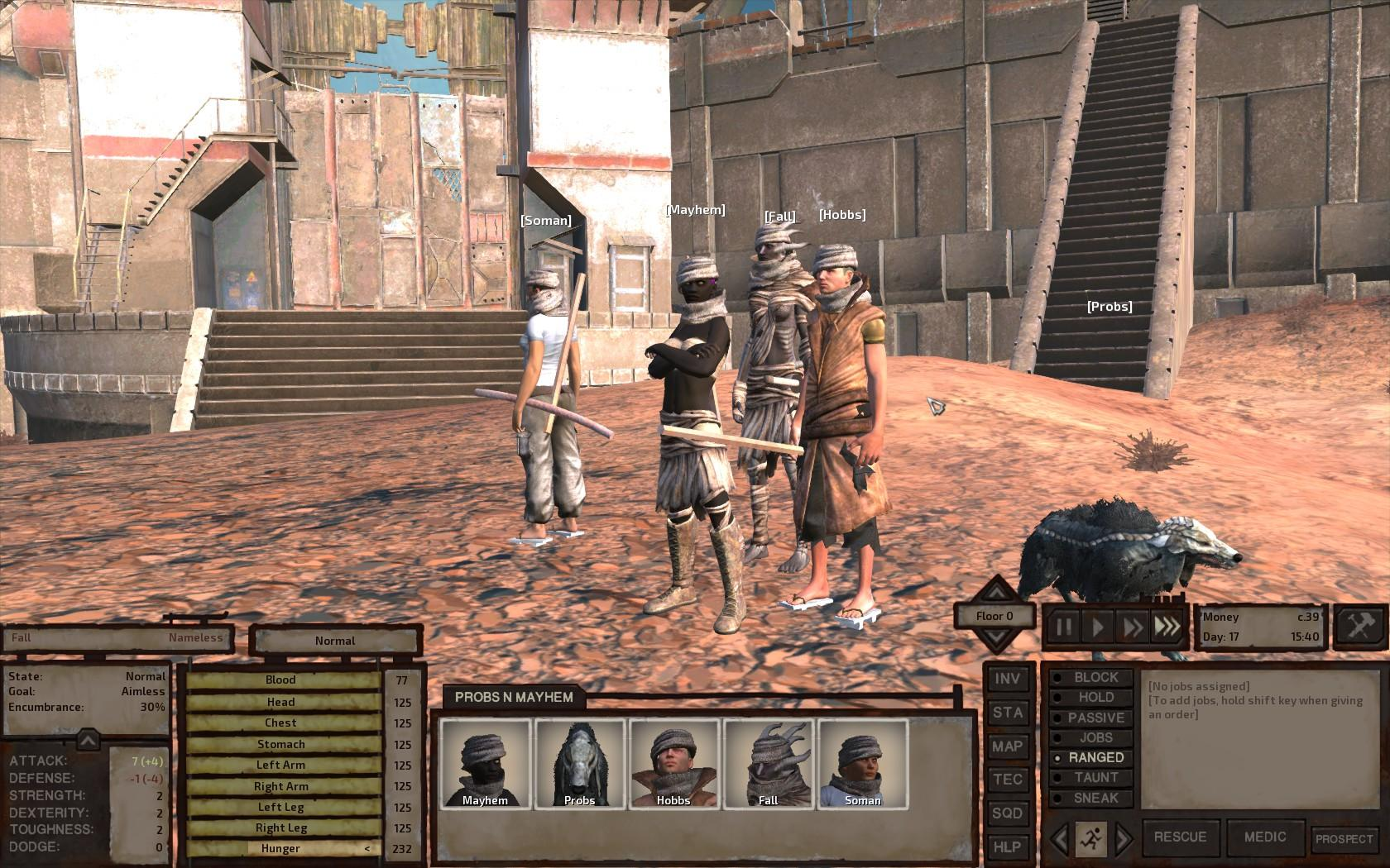 Kenshi - Starting Guide / Guy and His Dog