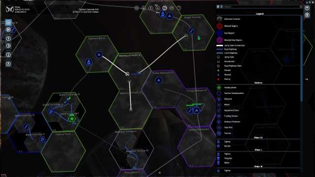 X4: Foundations - Sector Map