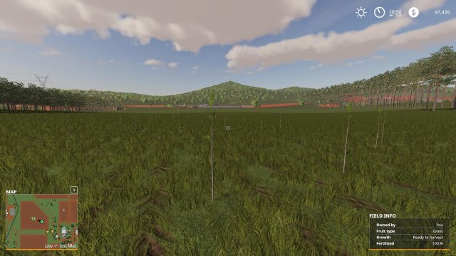 Farming Simulator 19 - Tree Growth Stages from Start to Finish