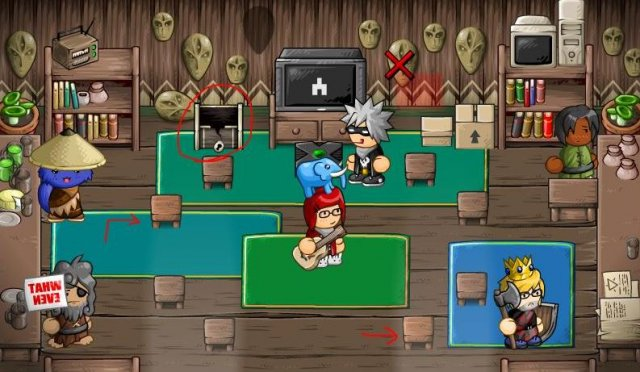 Epic Battle Fantasy 5 - Redpine Orphanage / Steroid Shop Hidden Chest