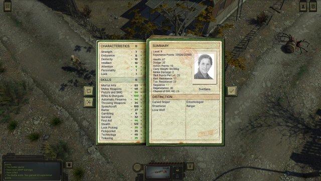 ATOM RPG - Starting Guide for Snipers