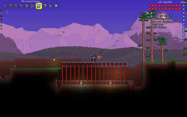 Terraria - Dart Trap Autocannon