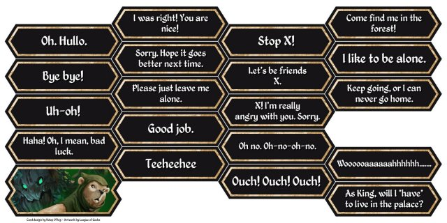Armello - Chat Cards