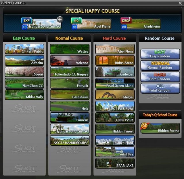 Shot Online - What is Special Happy Course?