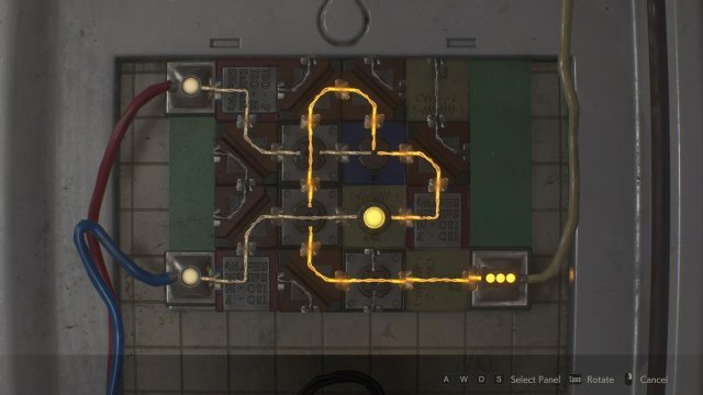 Resident Evil 2 - Circuit Board Puzzle Solutions