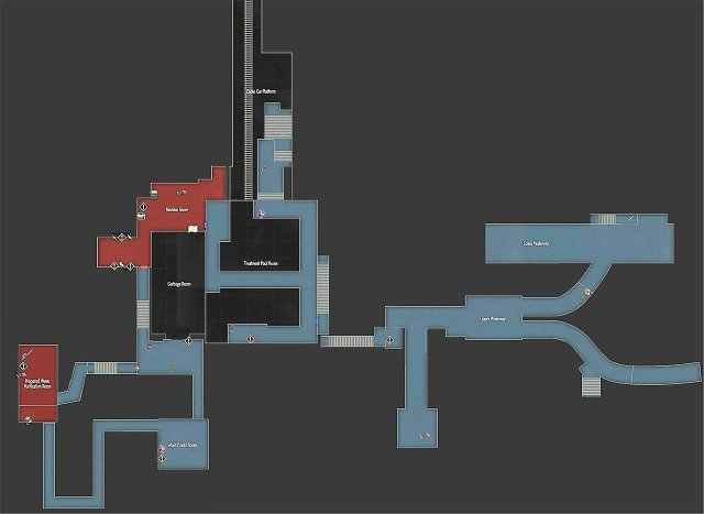 Resident Evil 2 - Maps and Item Locations (Leon)