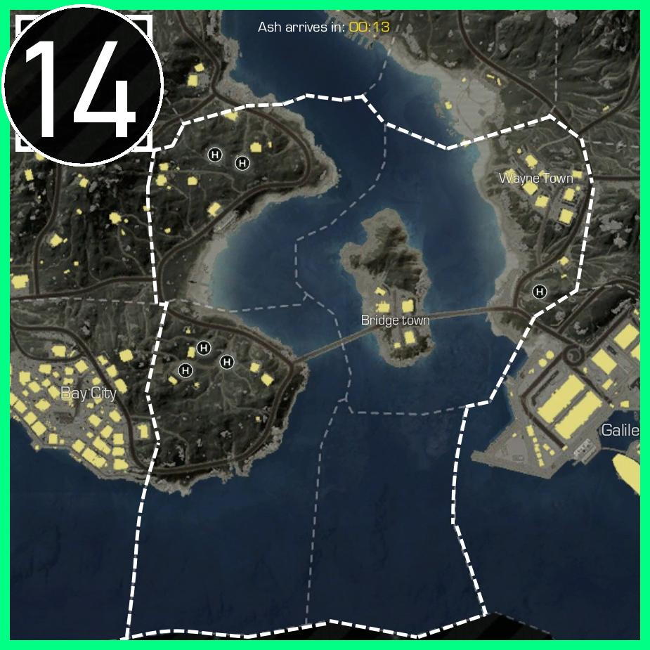 Ring of Elysium - Helicopter Map Locations (Europa Map)