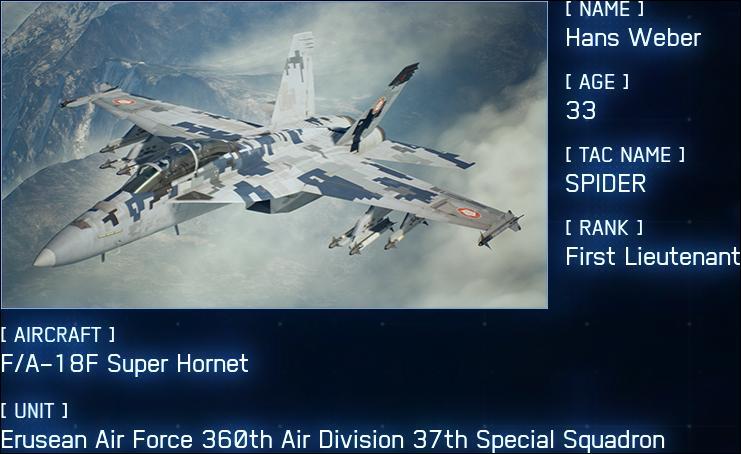 13 Squadron Ace Combat t