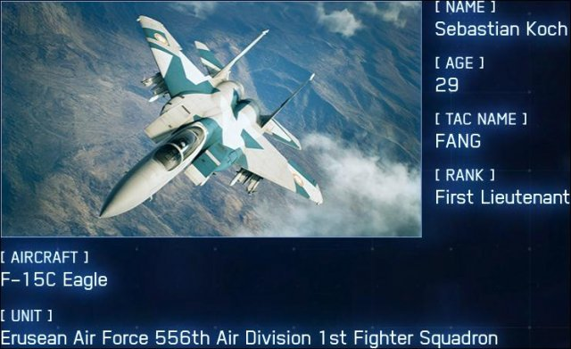 Ace Combat 7: Skies Unknown - Named Aces / Bird of Prey Guide