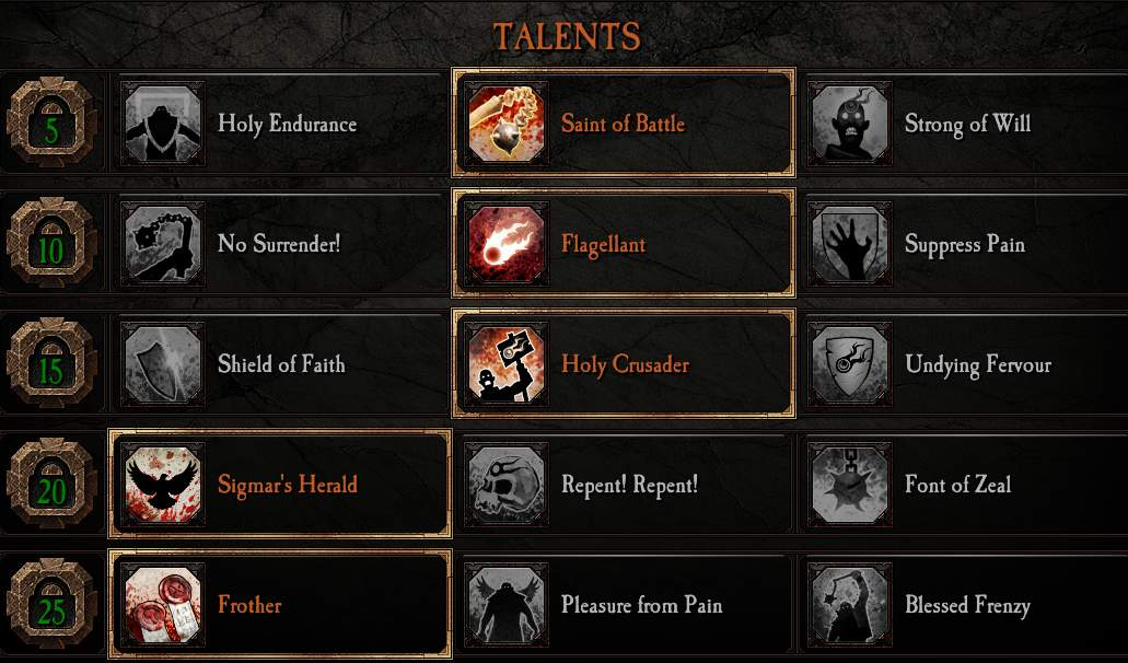 Warhammer: Vermintide 2 - Saltzpyre All Careers (Full Red Build