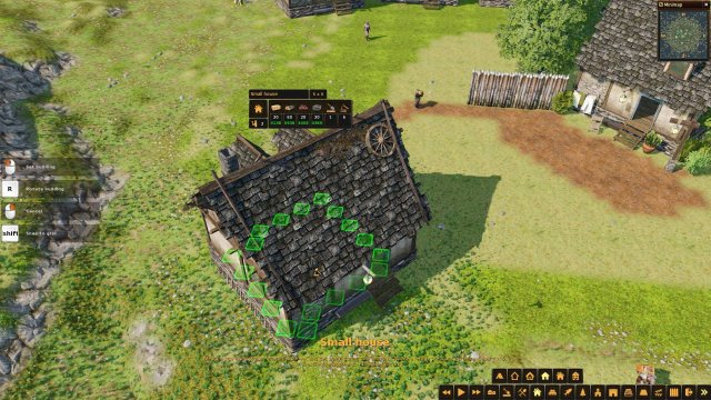 Life is Feudal: Forest Village - Rotate Buildings