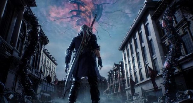 Devil May Cry 5 - Final Boss Fight & All Endings