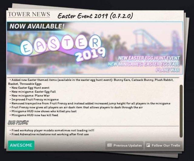 Tower Unite - Easter 2019 Egg Guide