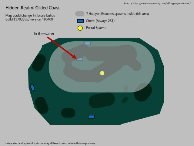 Risk of Rain 2 - Area Maps (Spawns, Teleporters, Newt Alters)