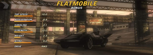FlatOut: Ultimate Carnage - Extras Codes