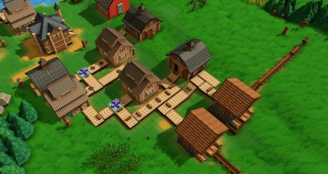 Factory Town - How to Take Cargo from Factory to Proper Silos in an Efficient Way