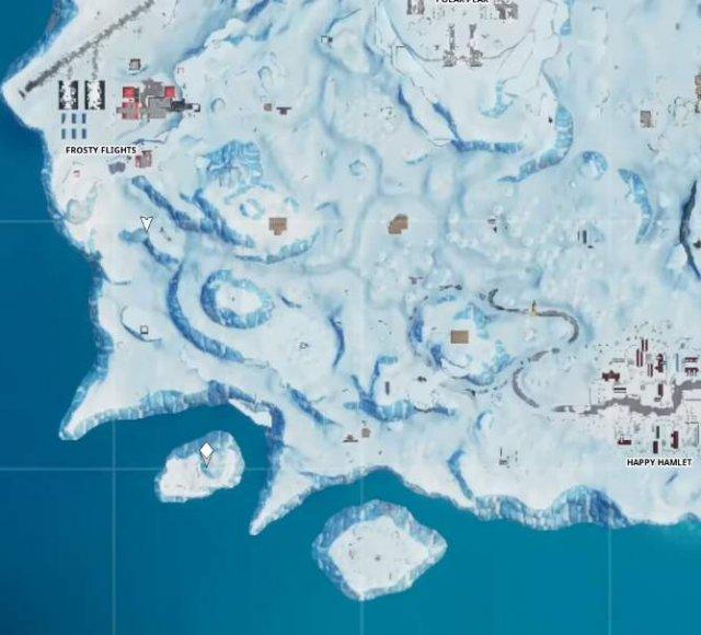 Fortnite Battle Royale - Fortbyte Challenge #36 (Season 9)