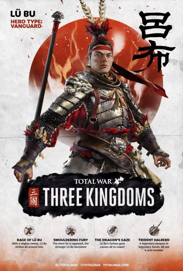 Total War: Three Kingdoms - Unlockable Characters