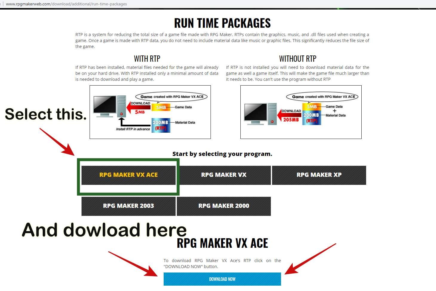 Rpg maker vx ace rtp full download | RPG Maker MV 1 3 4 Full