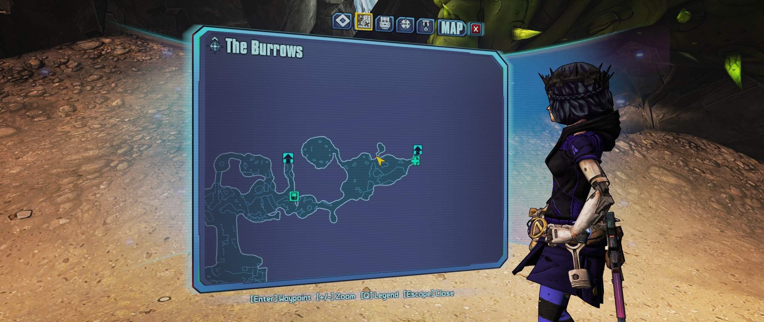 Borderlands 2 - Hidden Easter Egg (Ghost) / Commander Lilith & the