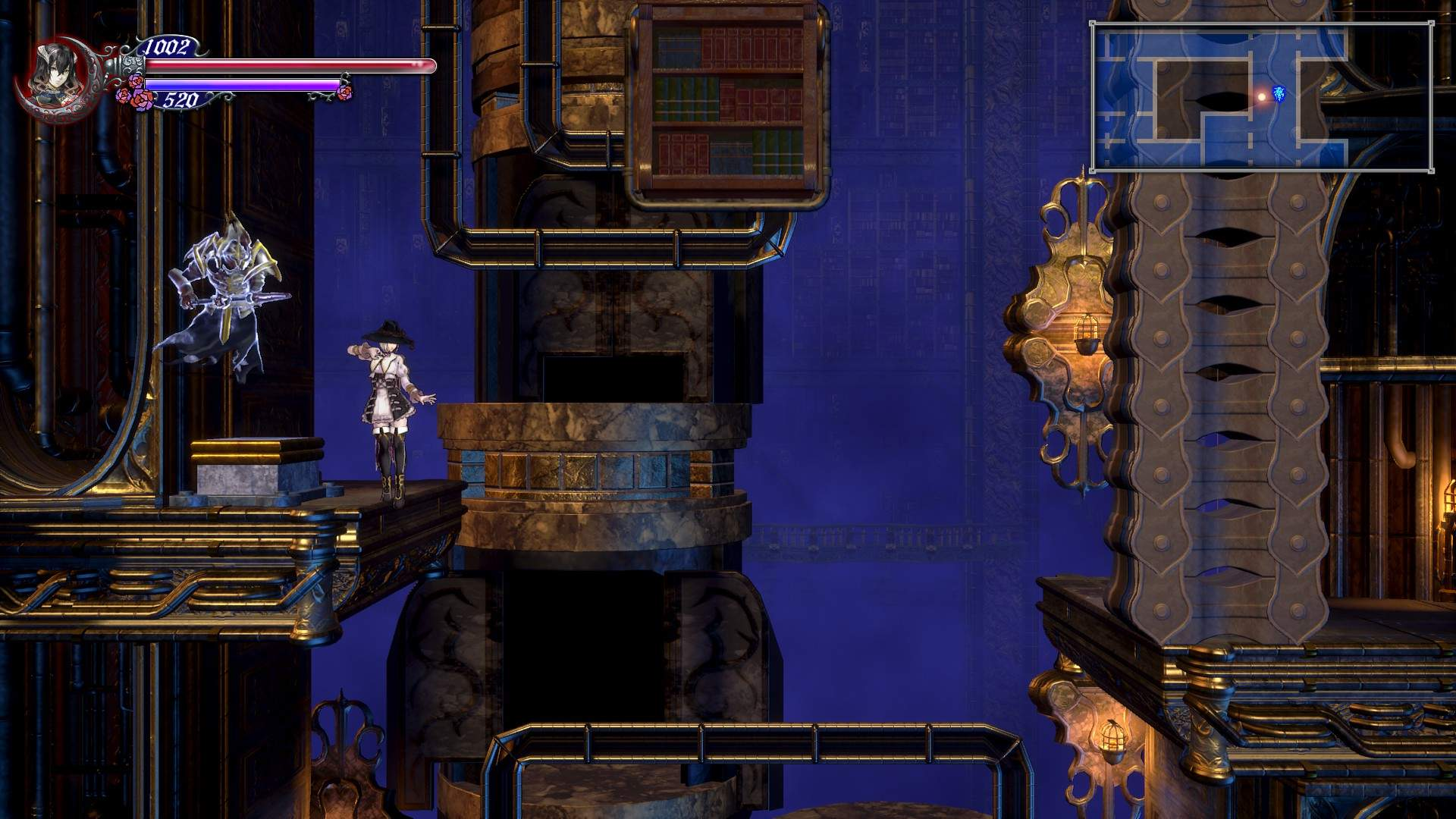 Bloodstained: Ritual of the Night - Livre Ex Machina Button