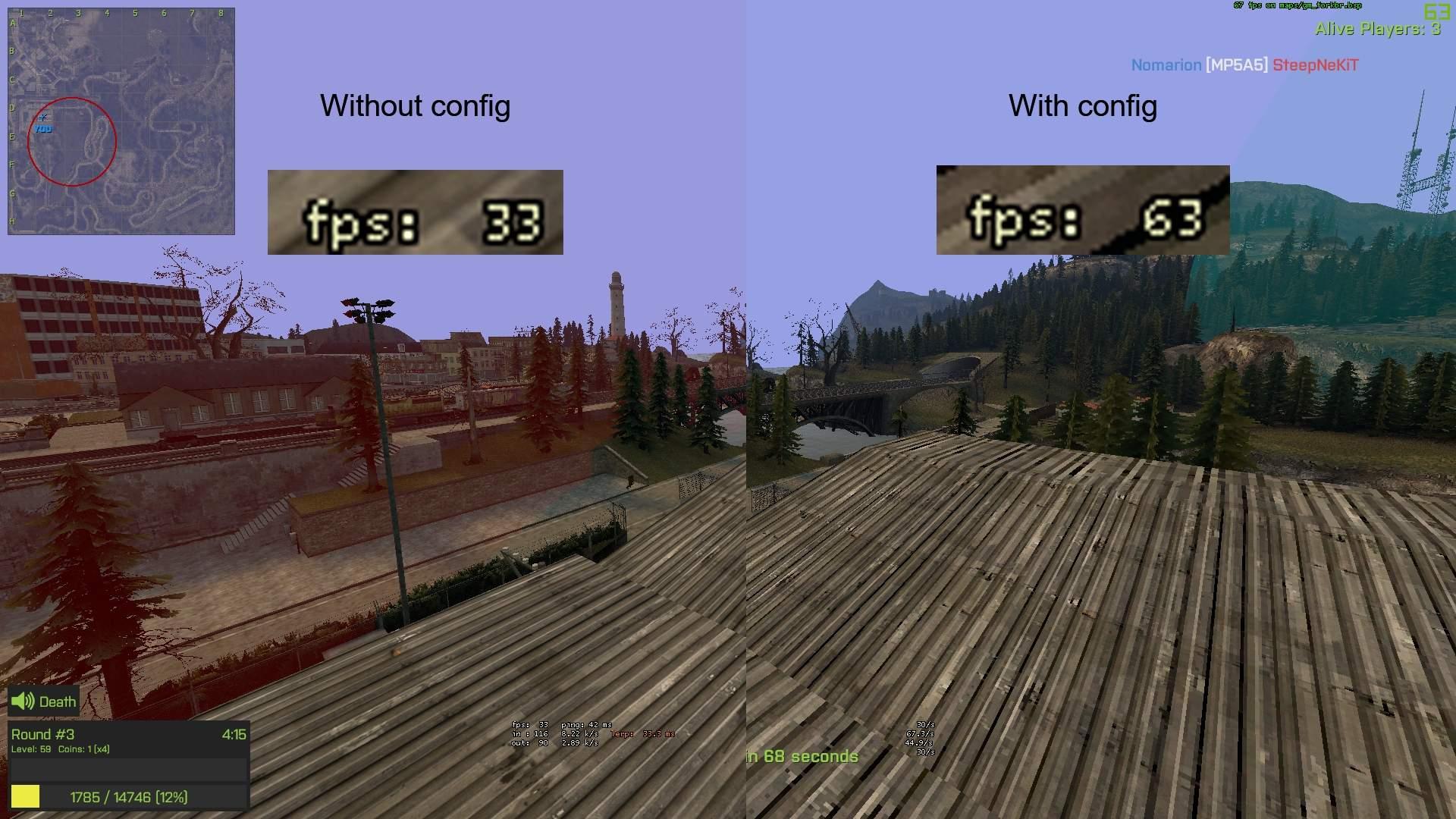 Garry's Mod - Increase FPS (2019)