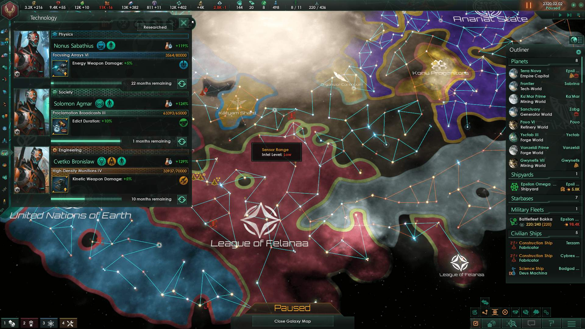 Stellaris - 3 Planet Tall Strategy Guide