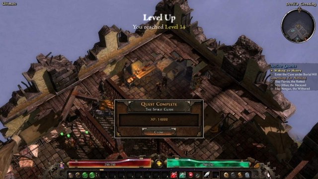 Grim Dawn - How to Start New Games at Level 15+