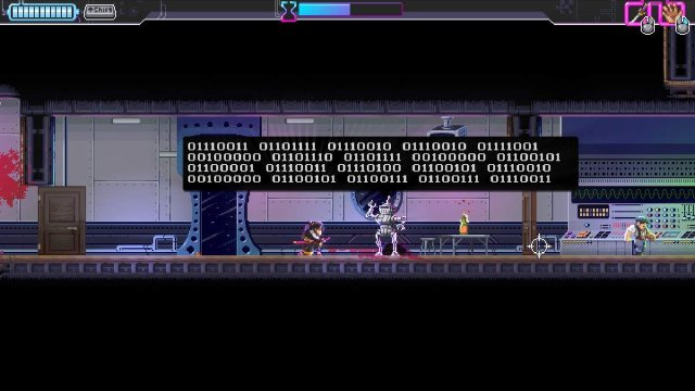 Katana ZERO - Hide Binary Code