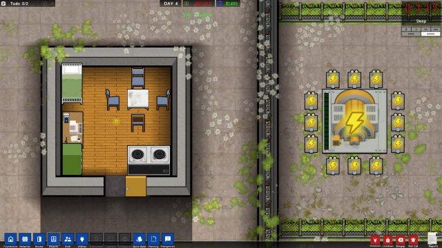 Prison Architect - Wires under Perimeter Walls