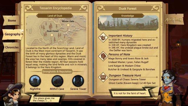 Ever Adventure - Dusk Forest (Tessarim Encyclopedia)
