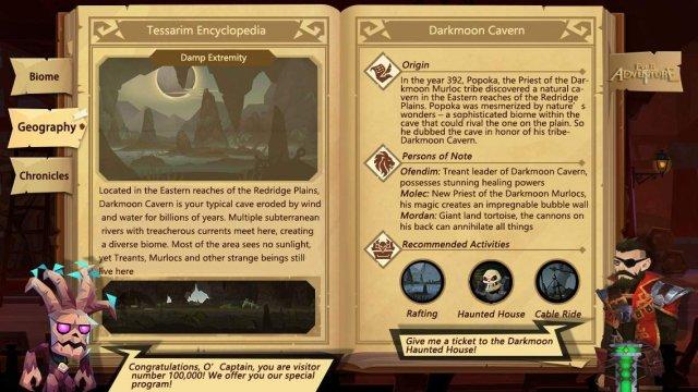 Ever Adventure - Darkmoon Cavern (Tessarim Encyclopedia)