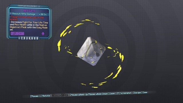 Borderlands 2 - Effervescent Rarity Gear Gibbed Codes