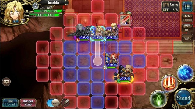 Langrisser Mobile - Obliterating Adon / Learn How to Tackle the Lv45 Aniki'S Gym Infantry Boss!