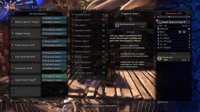 Monster Hunter: World - Mushroomer Build (Shroomer)