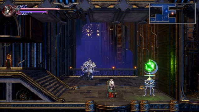 Bloodstained: Ritual of the Night - Livre Ex Machina Button Soltuion