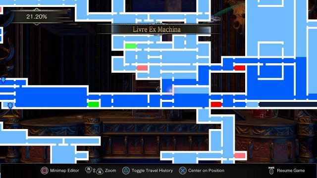 Bloodstained: Ritual of the Night - Locations for Recipes & Hairstyles
