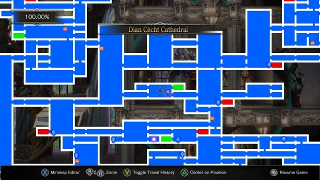 Bloodstained: Ritual of the Night - Journal + Techniques Location