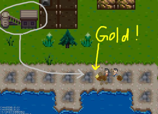 Your Island KIMI NO SIMA - How to Collect Precious Metals
