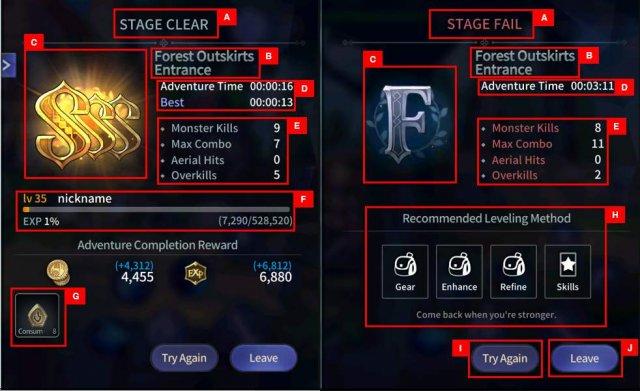 Magia: Charma Saga - Battle Results Guide